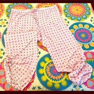 Old Navy Seersucker Embroidered PJ Pants - Size XL